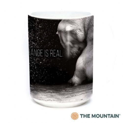 Climate Change Is Real Ceramic Mug | The Mountain®